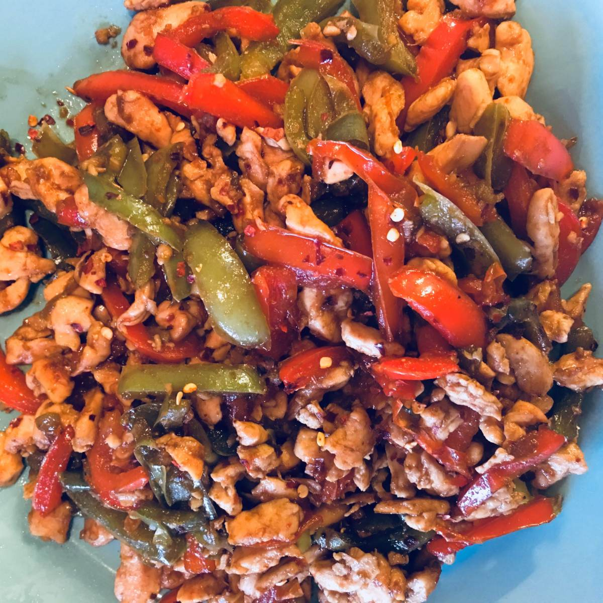 Fragrant Chicken Pepper Stir Fry